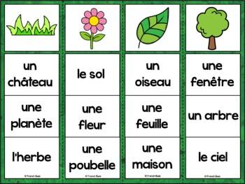 French Summer (été) - 2 jeux d'association - ensemble