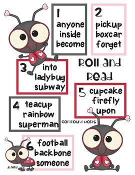 LuLu Ladybug Roll and Read - Compound Words