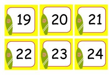 Luau Calendar Days