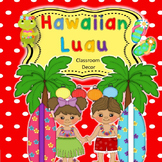 Luau Classroom Decoration Set