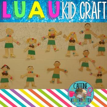 Luau Craft - Hula Kid