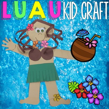 Luau Craft - Hula Kid
