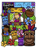 Luau Fun {Creative Clips Digital Clipart}