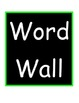 Luau Hawaiian Word Wall Dolch Word Set