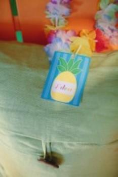 Classroom Decor Luau Pineapple Name Tags