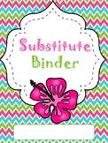 Tropical Sub Binder (editable)