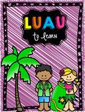 Luau To Learn: Cross Curricular Unit