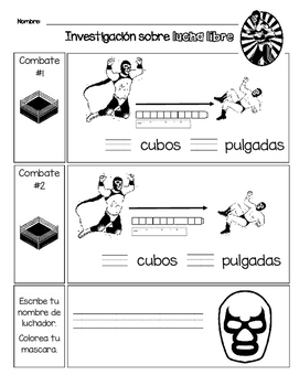 Lucha Libre STEM en español