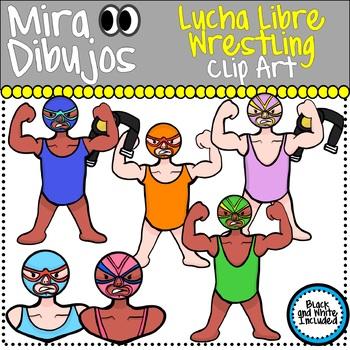 Lucha Libre Wrestling Clip Art
