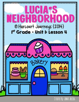 Lucia's Neighborhood (Journeys 1st - Supplemental Materials