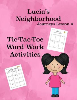 Lucia's Neighborhood Journeys Lesson 4