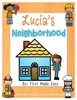 Lucia's Neighborhood Supplemental Activities For Journeys Unit 1