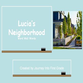 Lucia's Neighborhood (Journey's Common Core Reading Series)