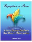 Lucie et Thornton Blackburn et Ann Maria et Albert Jackson