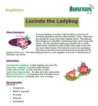 Lucinda the Ladybug BugNotes