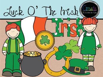 Luck O' The Irish - Digital Clipart