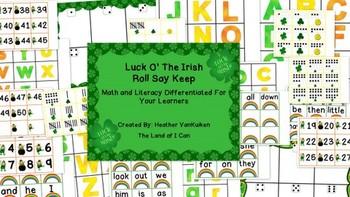 Luck O' The Irish Roll Say Keep