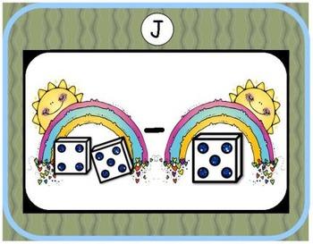 Luck 'O the Irish Addition & Subtraction Bundle {Subitizing with Dice}