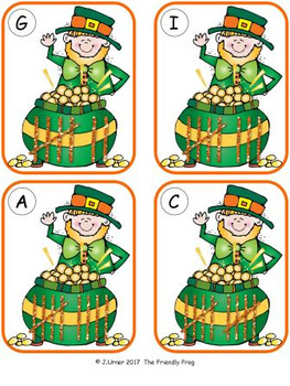 Luck 'O the Irish Counting 1-10 {Subitizing with Tally Marks}