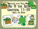 St. Patrick's Day Counting 11-20 {Subitizing with Tally Marks}