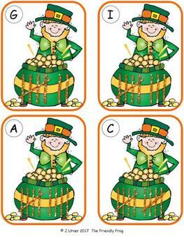 Luck 'O the Irish Counting 1-20 Bundle {Subitizing with Tally Marks}