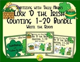 St. Patrick's Day Counting 1-20 Bundle {Subitizing with Tally Marks}
