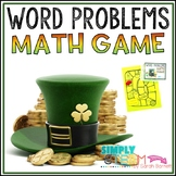 Addition and Subtraction Word Problems   St. Patrick's Day Math Games   Grade 2