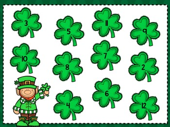 Luck O' the Irish:  Math and Literacy Activities for Little Learners