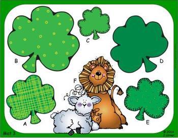 Luck 'O the Irish Measurement: Linear, Perimeter & Area