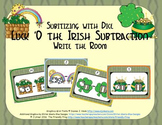 St. Patrick's Day Subtraction {Subitizing with Dice}