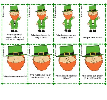 "Luck O' the Irish: ""WH"" questions"