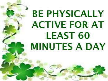 Luck Won't Keep You Healthy - March Bulletin Board