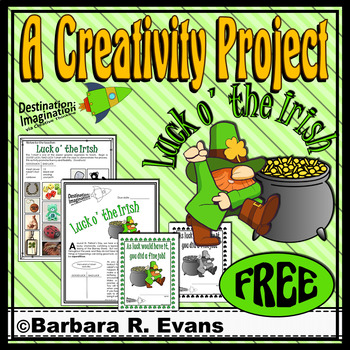 CREATIVE THINKING PROJECTS St. Patrick's Day Activity