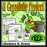 CREATIVE THINKING PROJECTS St. Patrick's Day Activity GATE HOTS Enrichment