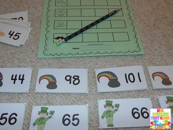 First Grade Centers: St. Patrick's Day