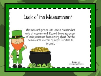 Luck o' the Measurement
