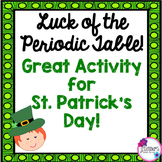 St. Patrick's Day Science Activity: Periodic Table Activity