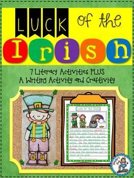 Luck of the Irish {7 Literacy Activities & Writing Activity and Craftivity}