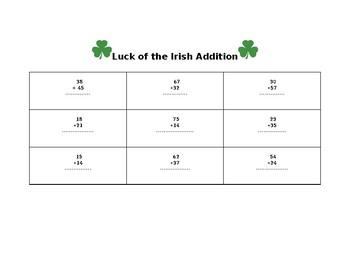 Luck of the Irish Addition