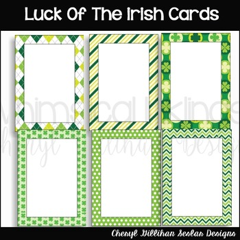 Luck of the Irish Cards
