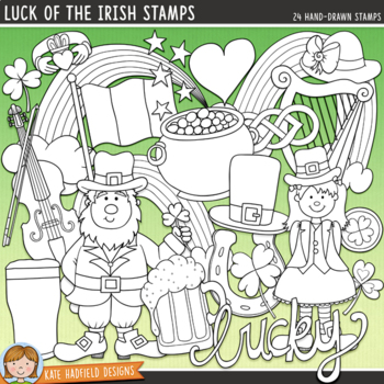 "St Patrick's Day Clip Art 2: ""Luck of the Irish"""
