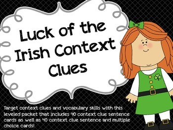 Luck of the Irish Context Clues
