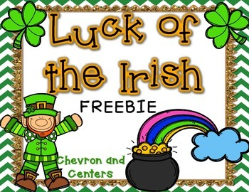 Luck of the Irish- FREEBIE