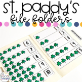 Luck of the Irish File Folder Activities for Special Education
