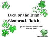 Luck of the Irish Shamrock Match