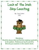 Luck of the Irish Skip Counting