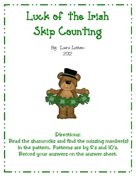 Luck of the Irish Skip Counting
