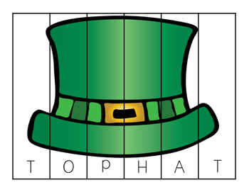 Luck of the Irish Spelling Puzzles
