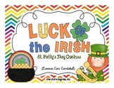 Luck of the Irish: St. Patty's Day Centers for the Common Core!