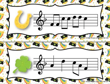 Luck of the Irish, Write-the-Room - Melodic Scavenger Hunt - Do
